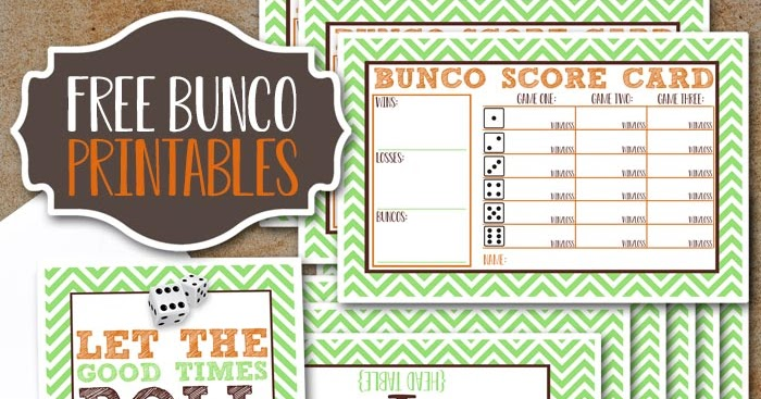 It's just an image of Crush Printable Bunco Sheets