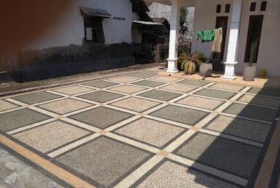 Jasa Batu Sikat - Biaya Bikin Lantai Carport