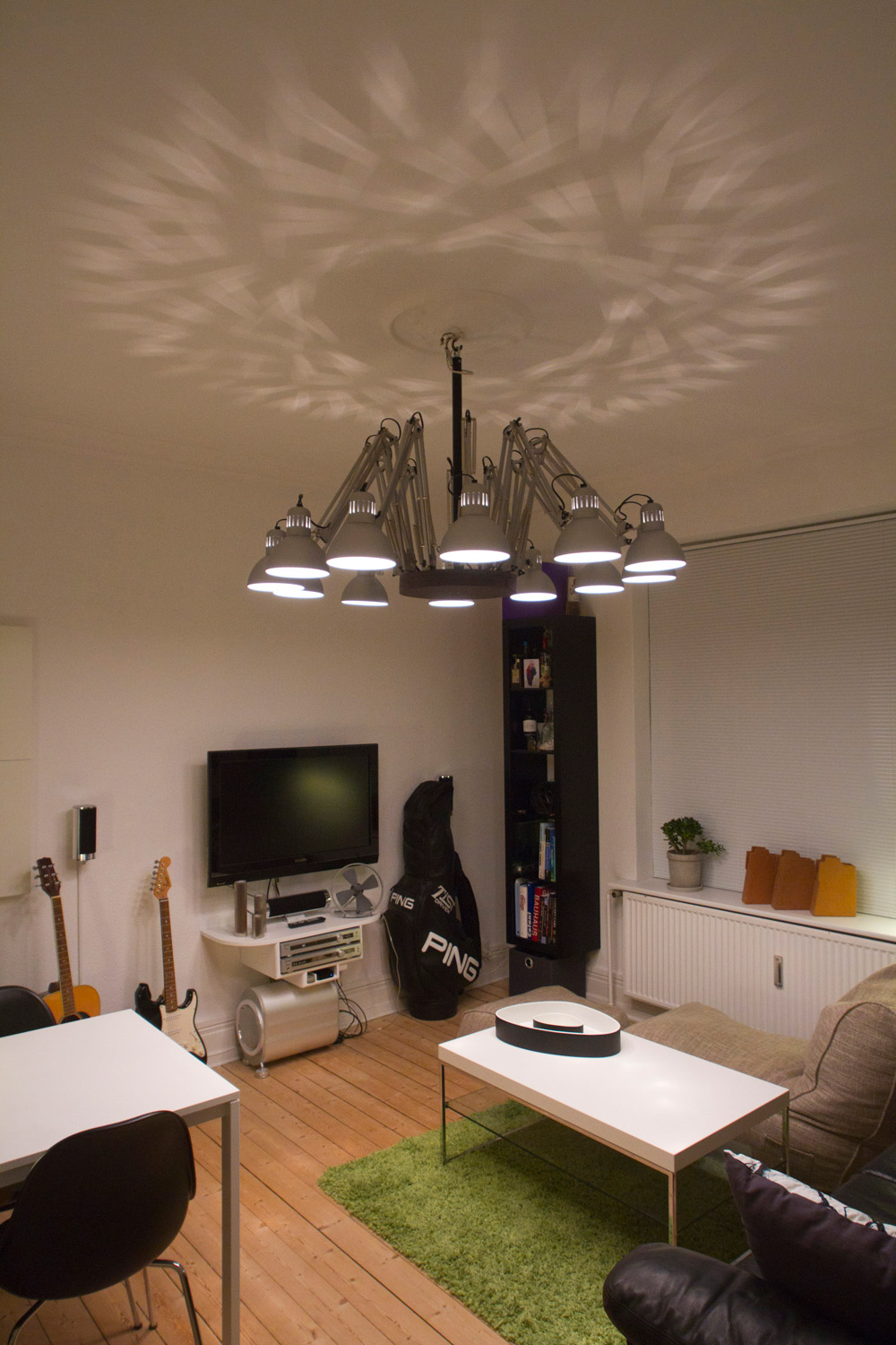 A TERTIAL chandelier ~ Get Home Decorating