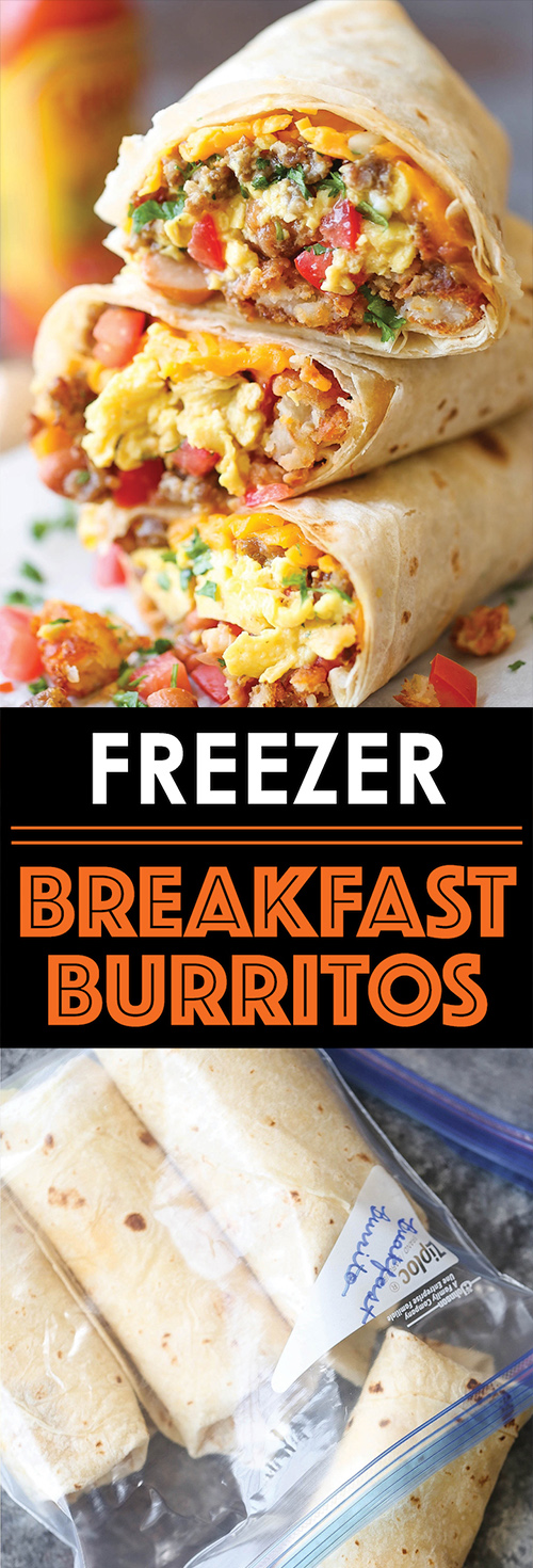 Freezer Breakfast Burritos That'll Get You Out Of Bed