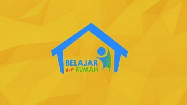 logo belajar dari rumah bersama tvri