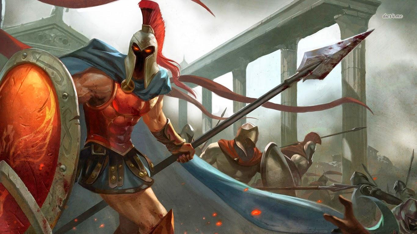 Pantheon League of Legends Wallpaper