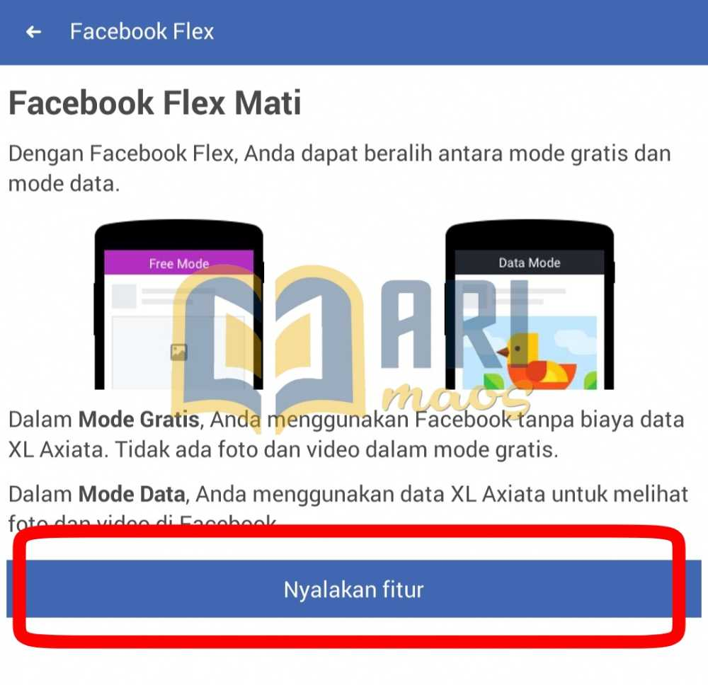 mode gratis facebook lite