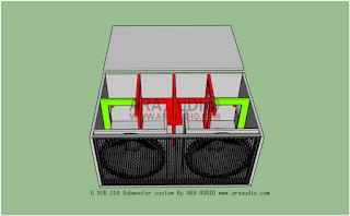 G SUB 218 Subwoofer speaker plans