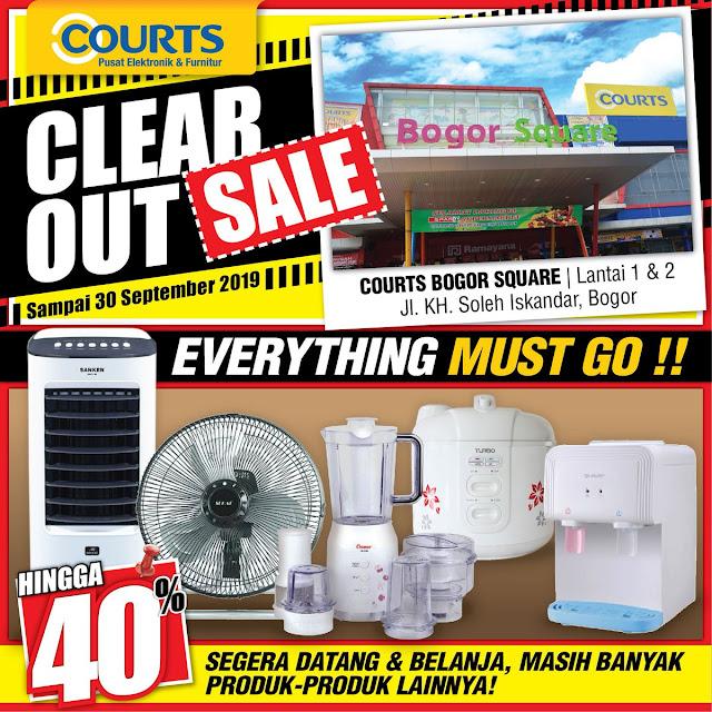 #Courts - #Promo Diskon Hingga 40% di Courts Ramayana Bogor Square (s.d 30 Sept 2019)