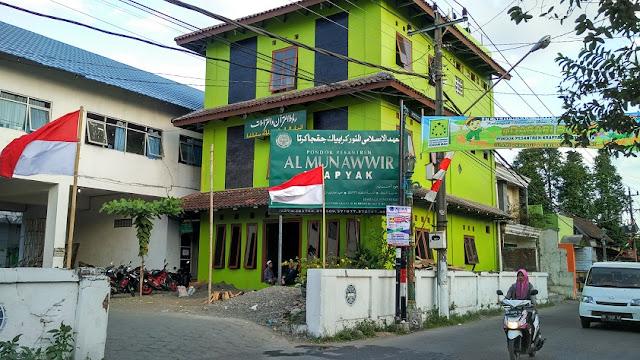 Bangunan ponpes al munawir krapyak jogja