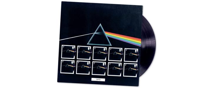 Pink Floyd「狂気」デザインの記念切手