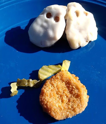 how to make cheesy ghost chicken nuggets