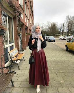 trend hijab casual muslimah