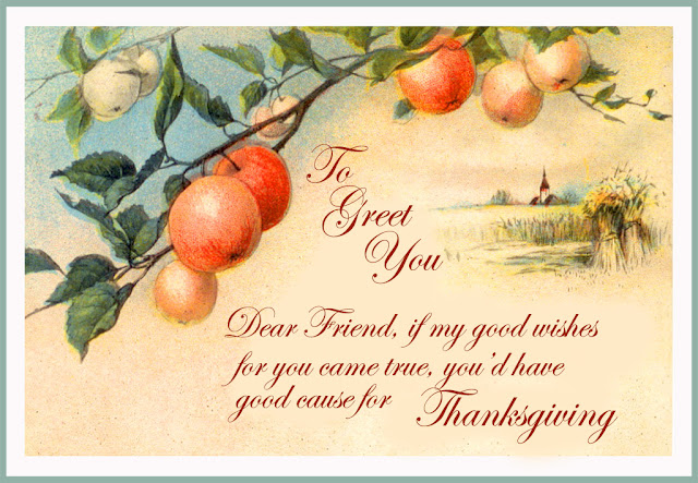 thanksgiving greeting cards with wishes