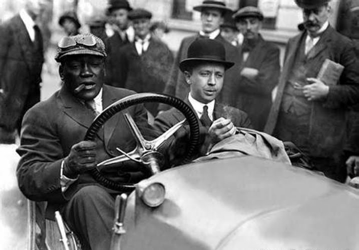 Image result for jack johnson boxer driver