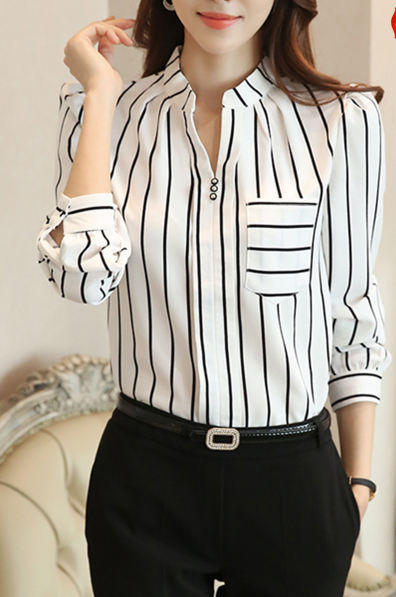 https://www.fashionmia.com/Products/autumn-spring-chiffon-women-split-neck-patch-pocket-striped-long-sleeve-blouses-189367.html