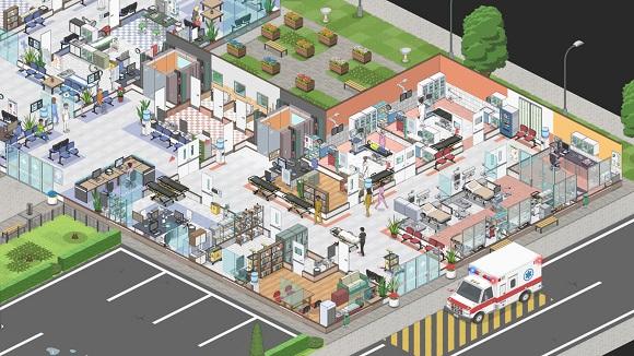 مشروع مستشفى حاسوب - لقطة شاشة - www.ovagames.com - 2