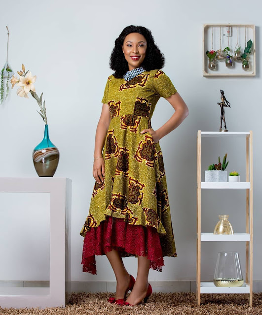 2019 Latest and Fascinating Ankara Gown Styles