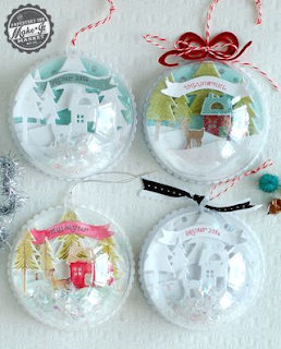 Conviviality crafts 2016 diy christmas ornaments for Clear plastic craft ornaments michaels