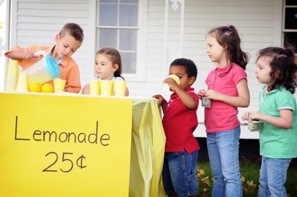 Enseñar a tus hijos a vender