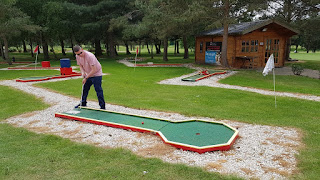 Crazy Golf at Malkins Bank Golf Club in Sandbach