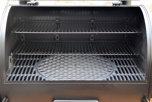 Oklahoma Joe's Rider DLX pellet grill has so much space for grilling you'll need to invite a few more friends to your cookout!