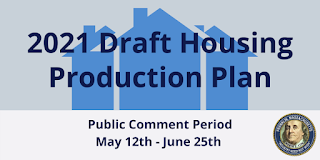 Public Hearing - 2021 Draft Housing Production Plan - June 2