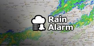 RainAlarm te avisa mediante notificacion si va a llover