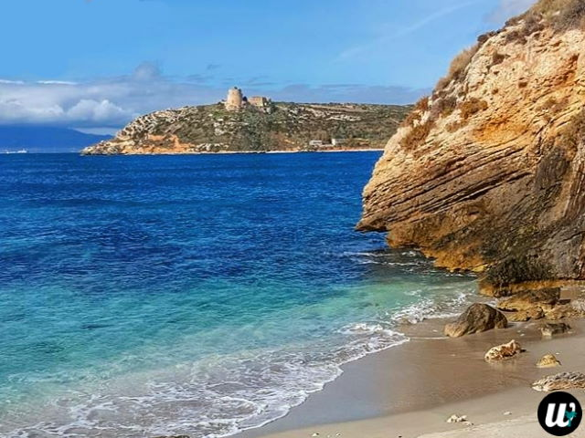 Calamosca beach and Cala Fighera beach | Cagliari, Sardinia, Italy