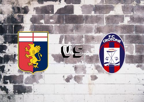 Genoa vs Crotone  Resumen