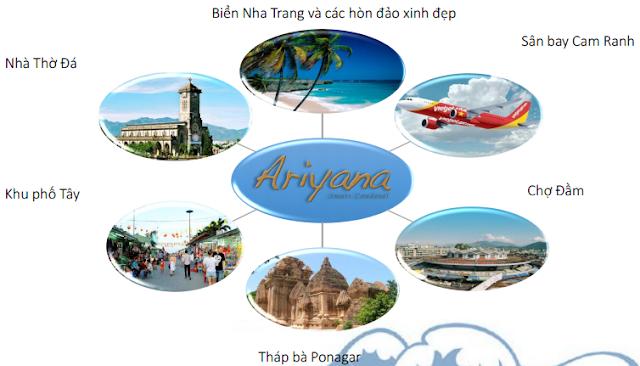 Tiện ích xung quanh căn hộ cao cấp Ariyana Nha Trang