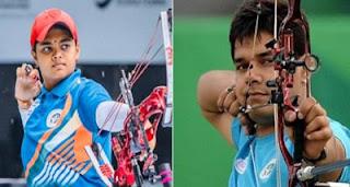 Abhishek-Jyothi claimed Gold at Asian Archery C'ships