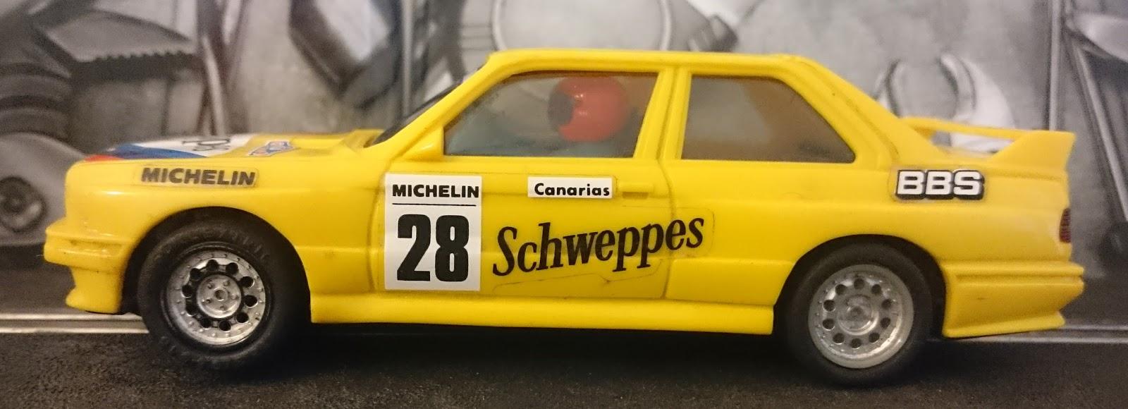BMW M3 Exin con publicidad de Schweppes