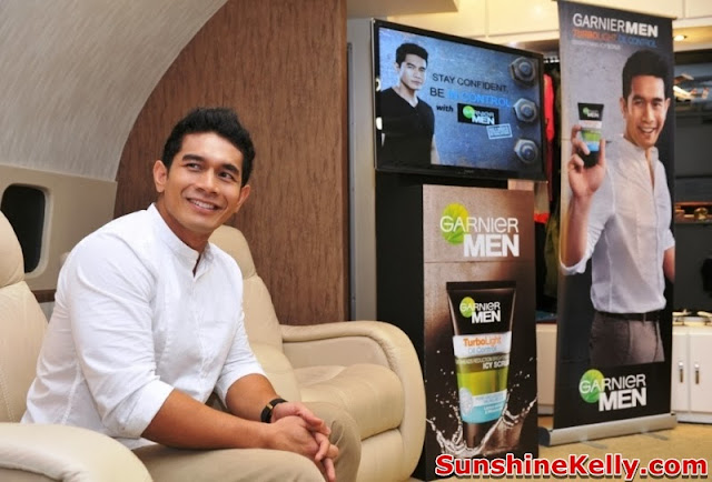 Garnier Men Be In Control, Garnier Men Turbo Light Oil Control, Garnier Men, Turbo Light Oil Control, be in control, ahmad fahrin, simflightkl, subang skypark, garnier