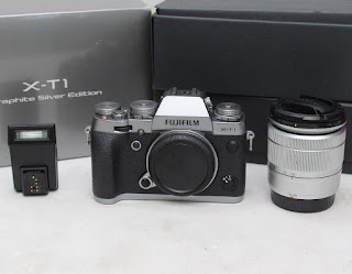 Fujifilm X-T1 Fullset dan Kit 16-50mm