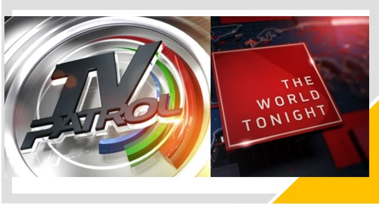 'TV Patrol' and 'The World Tonight' air on Kapamilya Channel