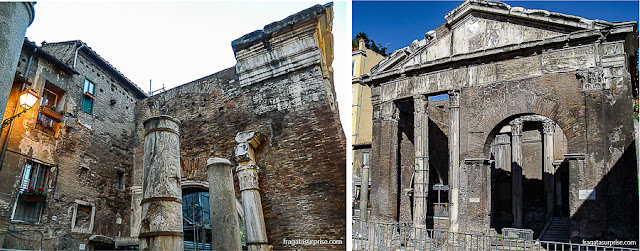 Pórtico de Otávia, Roma