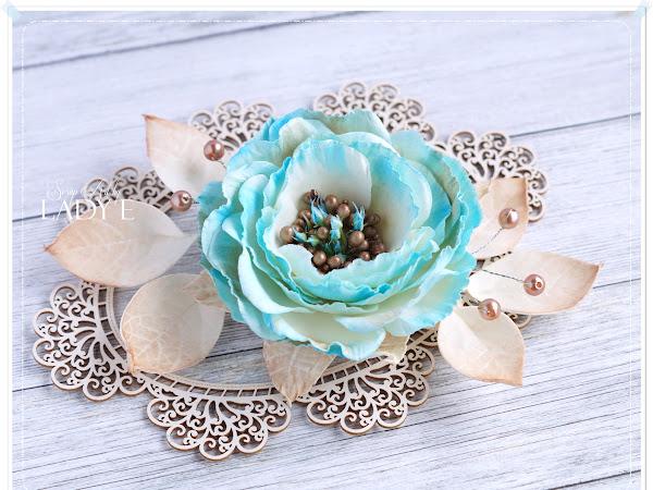 Foamiran Flower / Foamiranowy Kwiatek