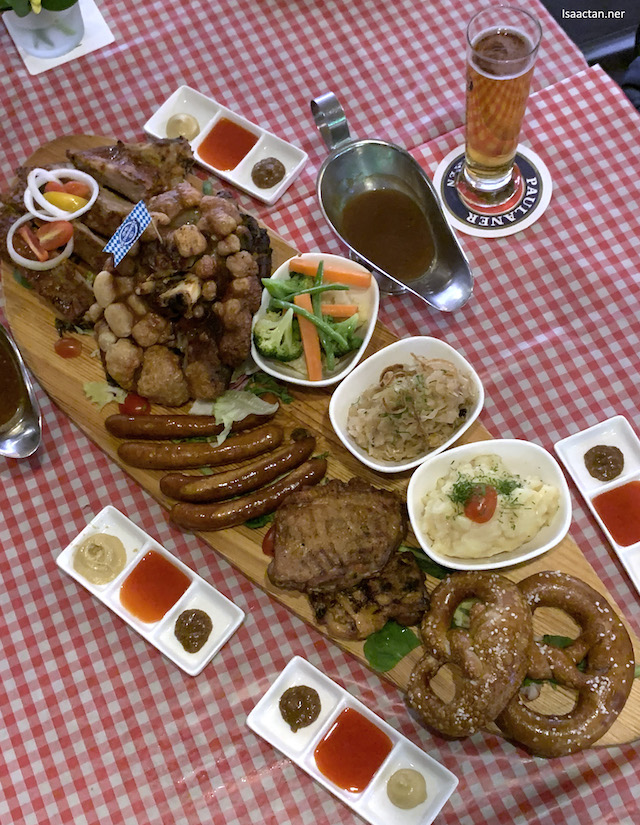 Oktoberfest Platter - RM205 nett