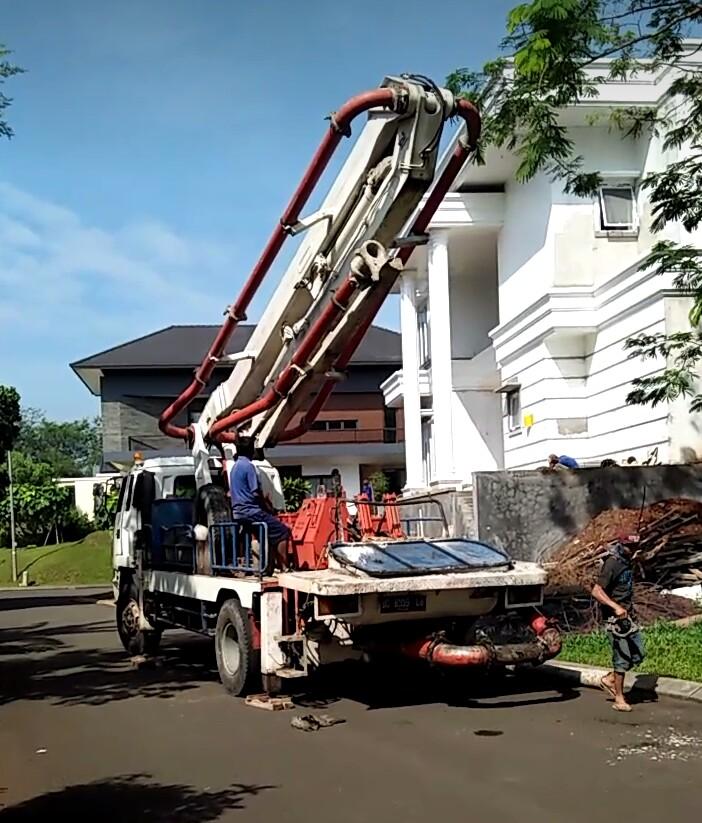 sewa pompa beton dan harga jual ready mix jasa supply 0812 8227 4712