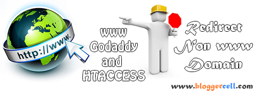 Redirect non www to www using Godaddy and .htaccess