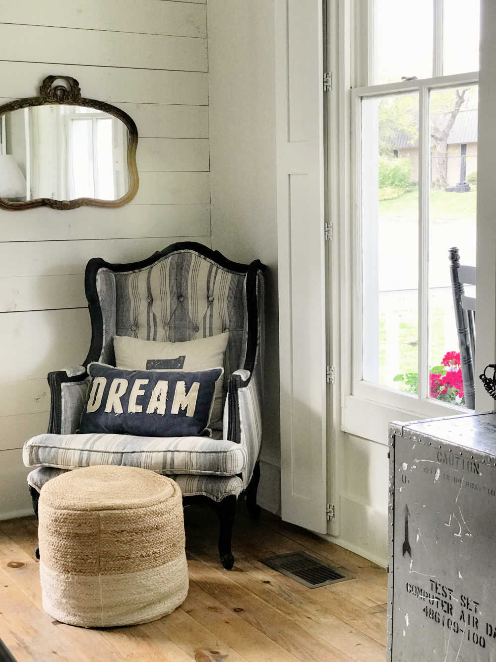 fixer upper style on a thrift shop budget