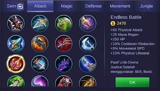 Endless Battle Mobile Legends