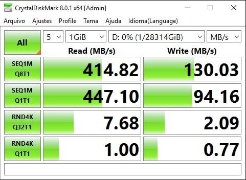 3x ST16000VN001 em RAID-5