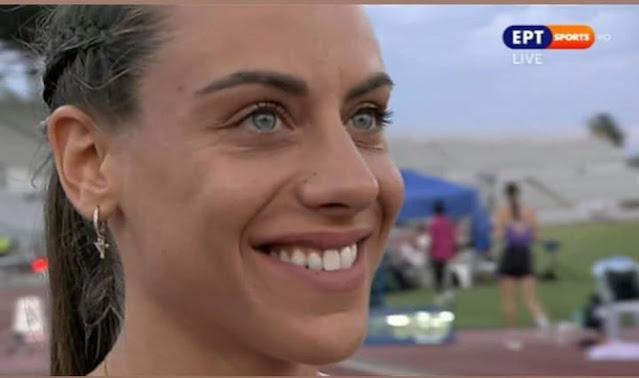 Τρίτη στα 400μ η Ελπίδα Καρκαλάτου στο Πανελλήνιο Πρωτάθλημα Κλειστού Στίβου