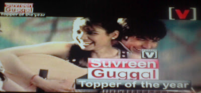 Suvreen Guggal Topper of the Year