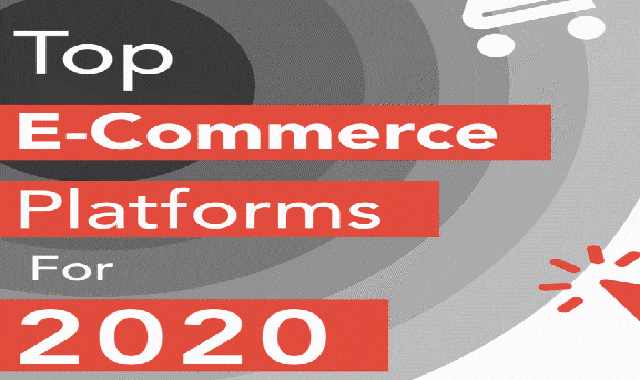 Top eCommerce platforms for 2020 #infographic