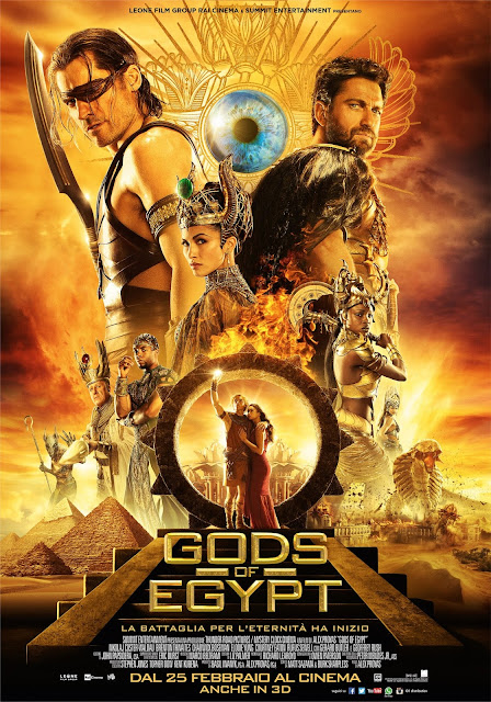 Gods of Egypt recensione poster
