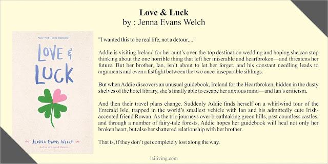 Love & Luck Jenna Evans Welch