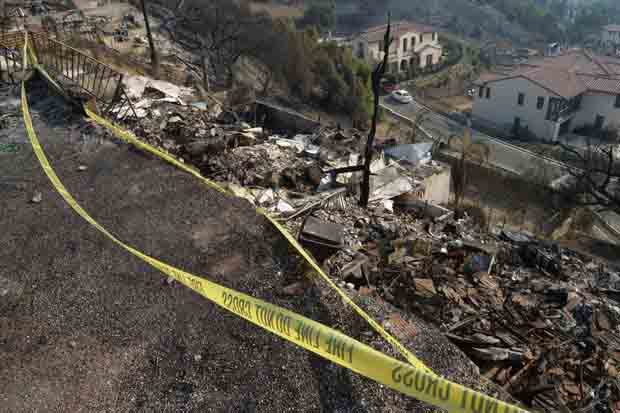 Hollywood artist 39 s settlement was hit by a landslide worldtoday - Residence de luxe montecito santa barbara ...