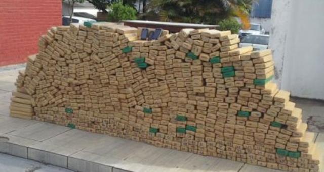João de Matos é preso em flagrante conduzindo 650 quilos de maconha no interior de Mato Grosso