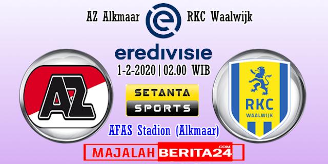 Prediksi AZ Alkmaar vs RKC Waalwijk — 1 Februari 2020