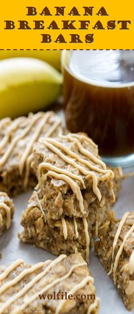 Banana Breakfast Bars Recipe