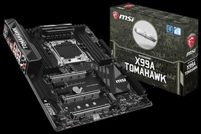 Spesifikasi Motherboard MSI X99A Tomahawk